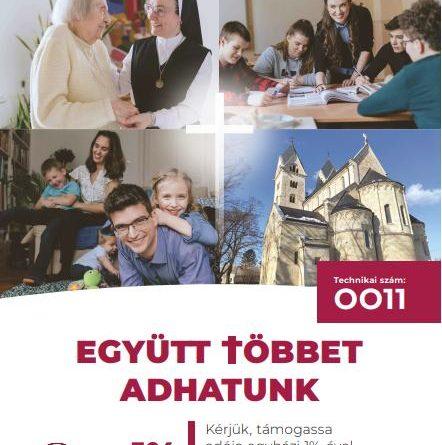 1% a Magyar Katolikus Egyháznak